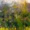 Duftige Landschaft mit Bäumen